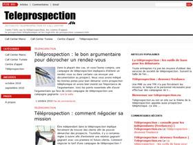 Téléprospection